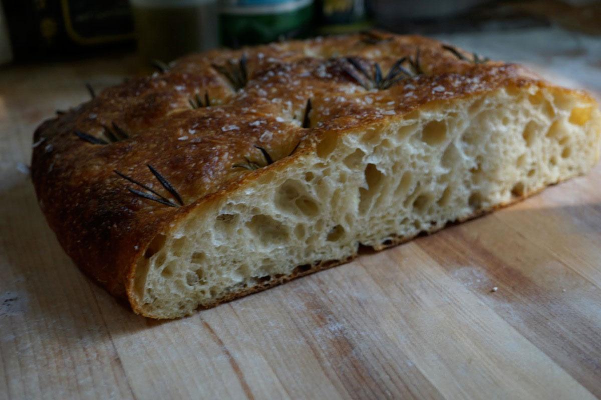 Artisan Bread Classes - Rosemary Focaccia