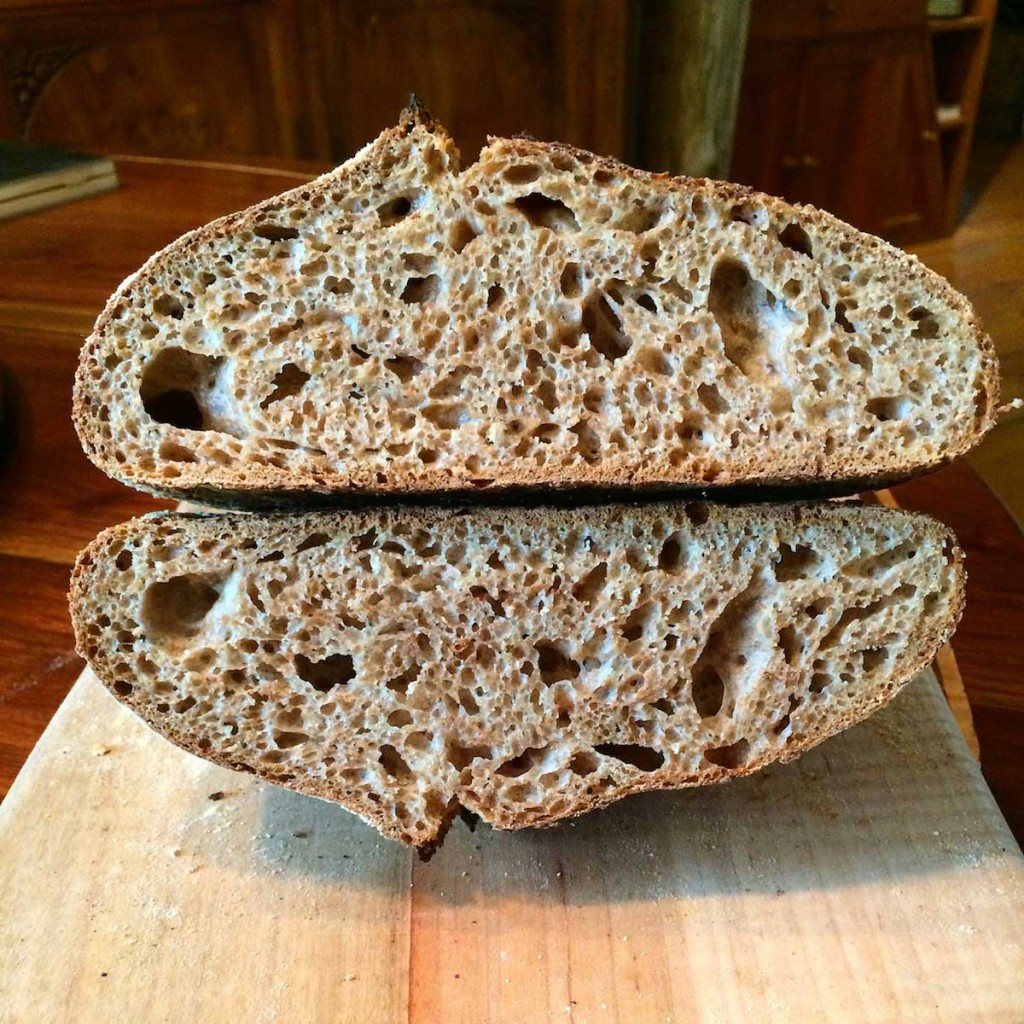 Artisan Bread Classes - Stone Ground Wheat Loaves