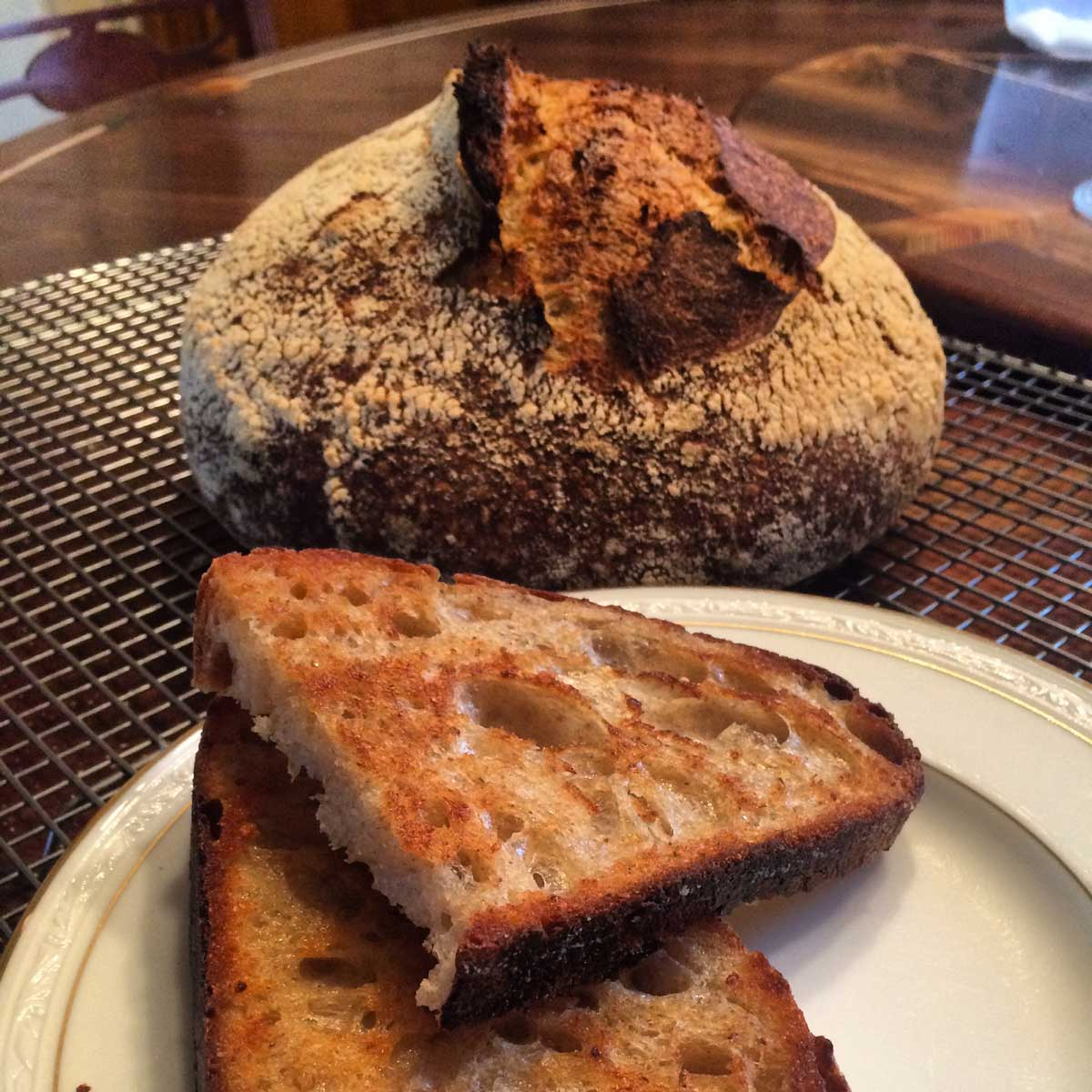Artisan Bread Classes Sourdough Country Loaf
