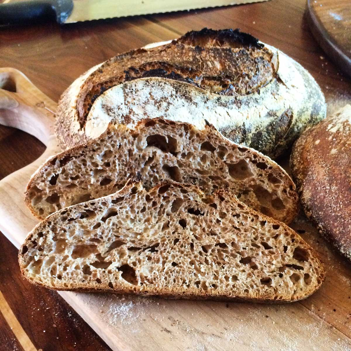 Artisan Bread Classes - Whole Wheat Loaf